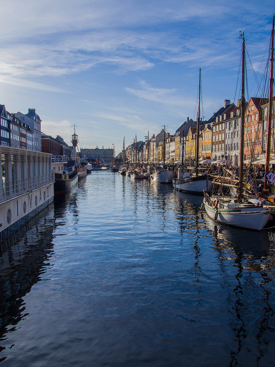 Copenhague : le port