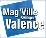 Article de presse sur Le Caillou aux Hiboux en première page du Mag ville Valence