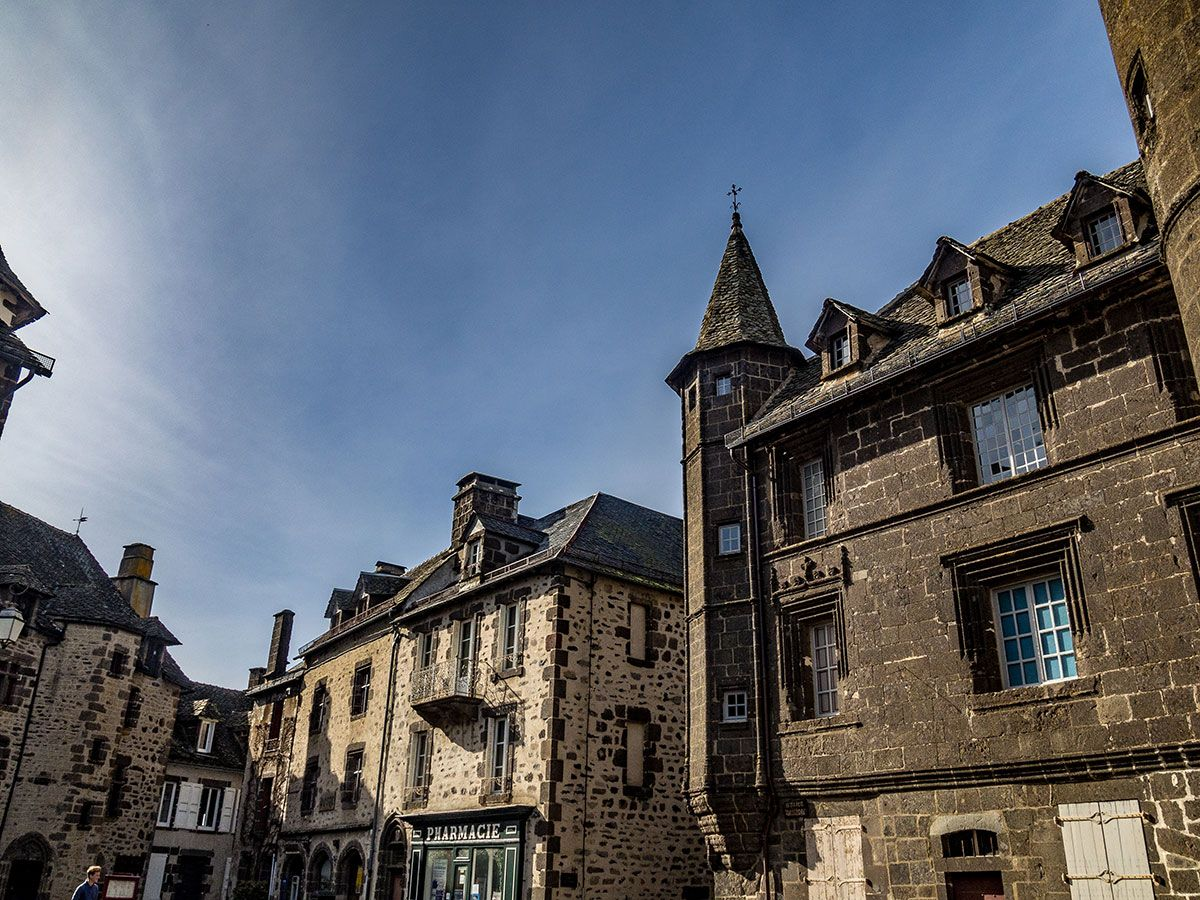 Salers cantal place principal