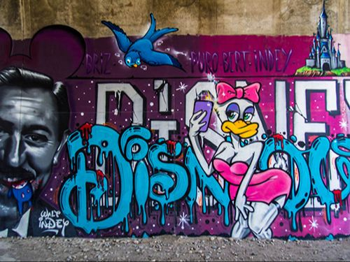 graffiti disney