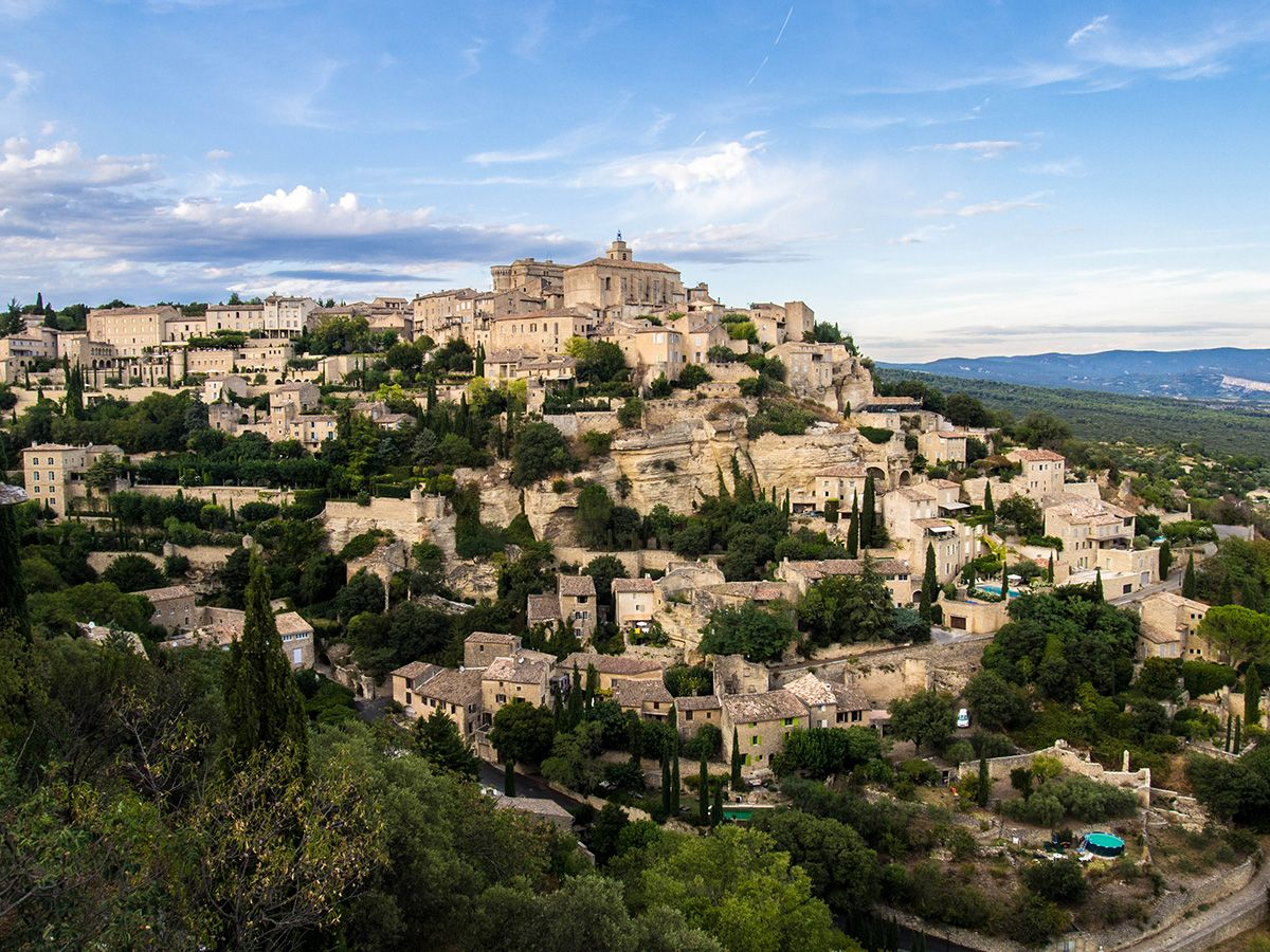 Gordes plus beau village de France