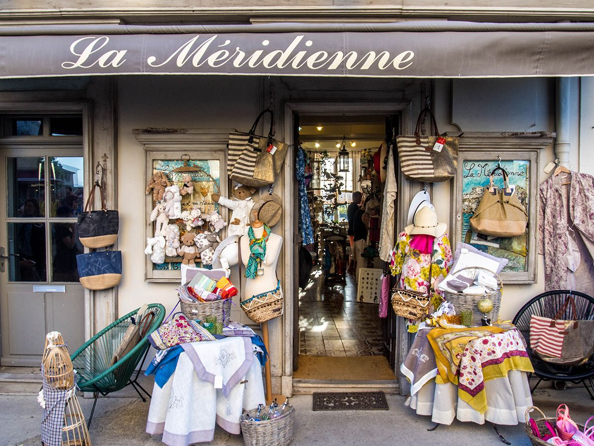 Magasin la méridienne à Gordes