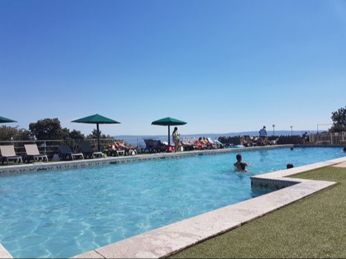 piscines camping des sources Gordes